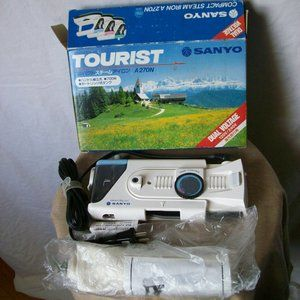 VTG Sanyo Dual Voltage Tourist Travel Iron - NIB